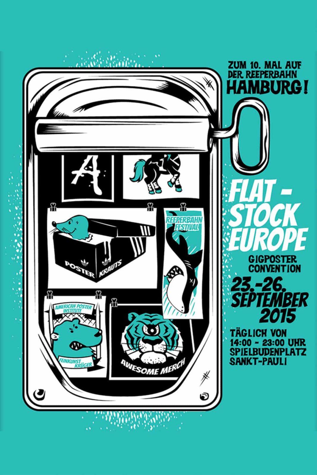 Flatstock Europe 2015 - Gigposter