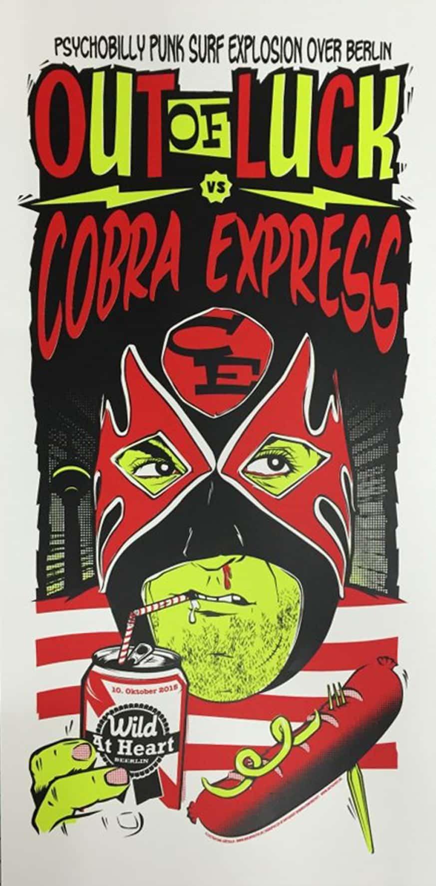 Cobra Express - Gigposter
