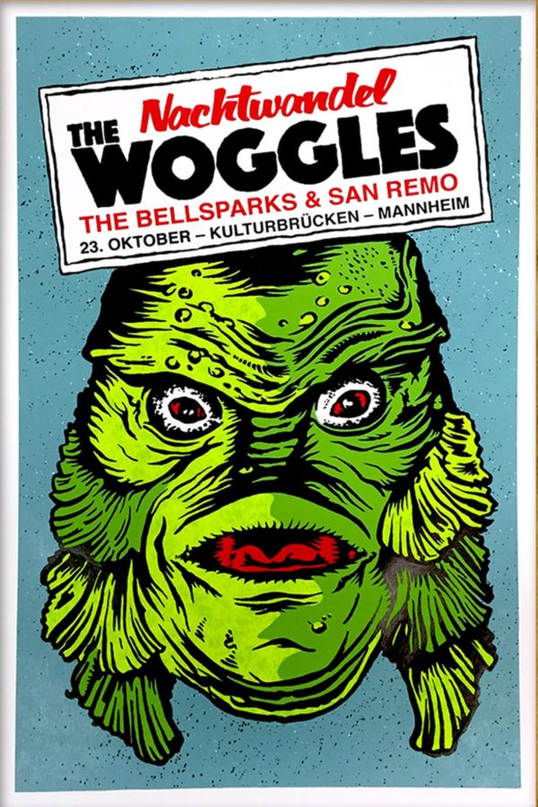 The Woggles - Gigposter