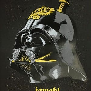 Jawohl Darth Vader - Artprint