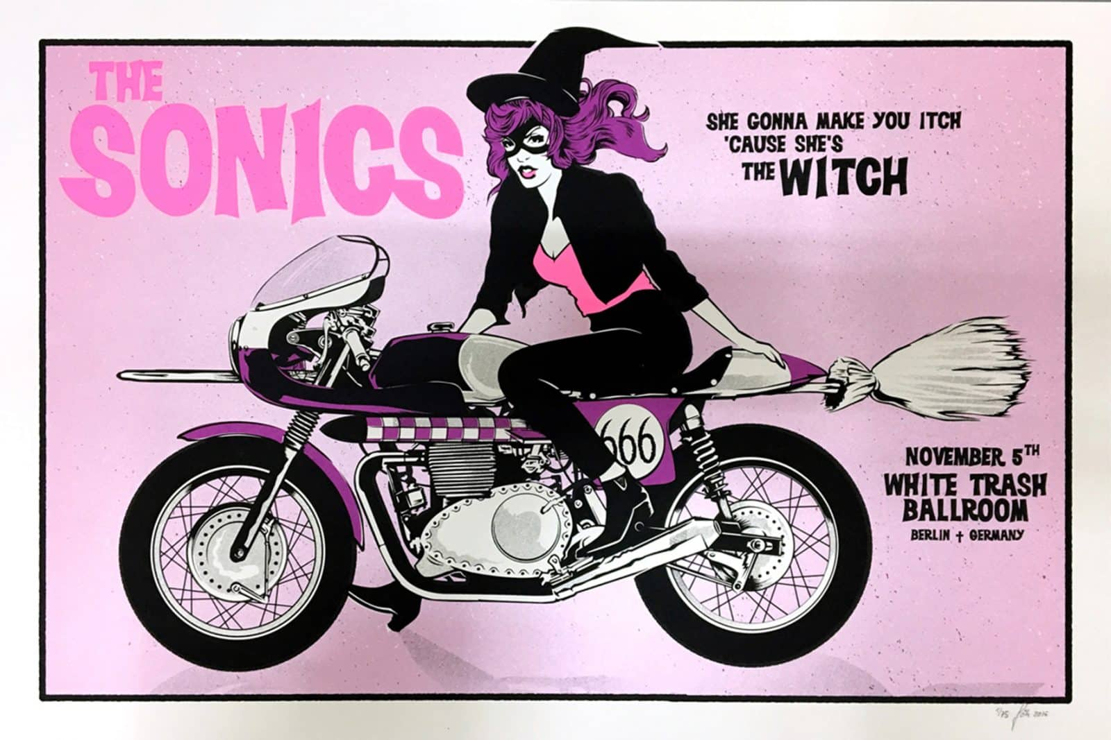 The Sonics - Gigposter
