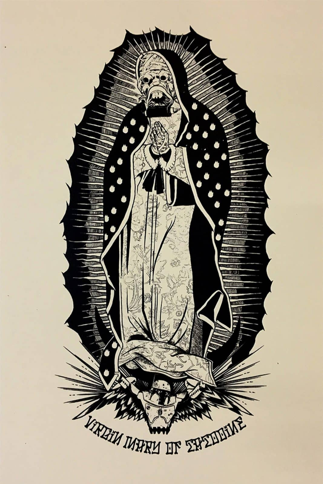 Virgin Mary of Tatooine - Artprint