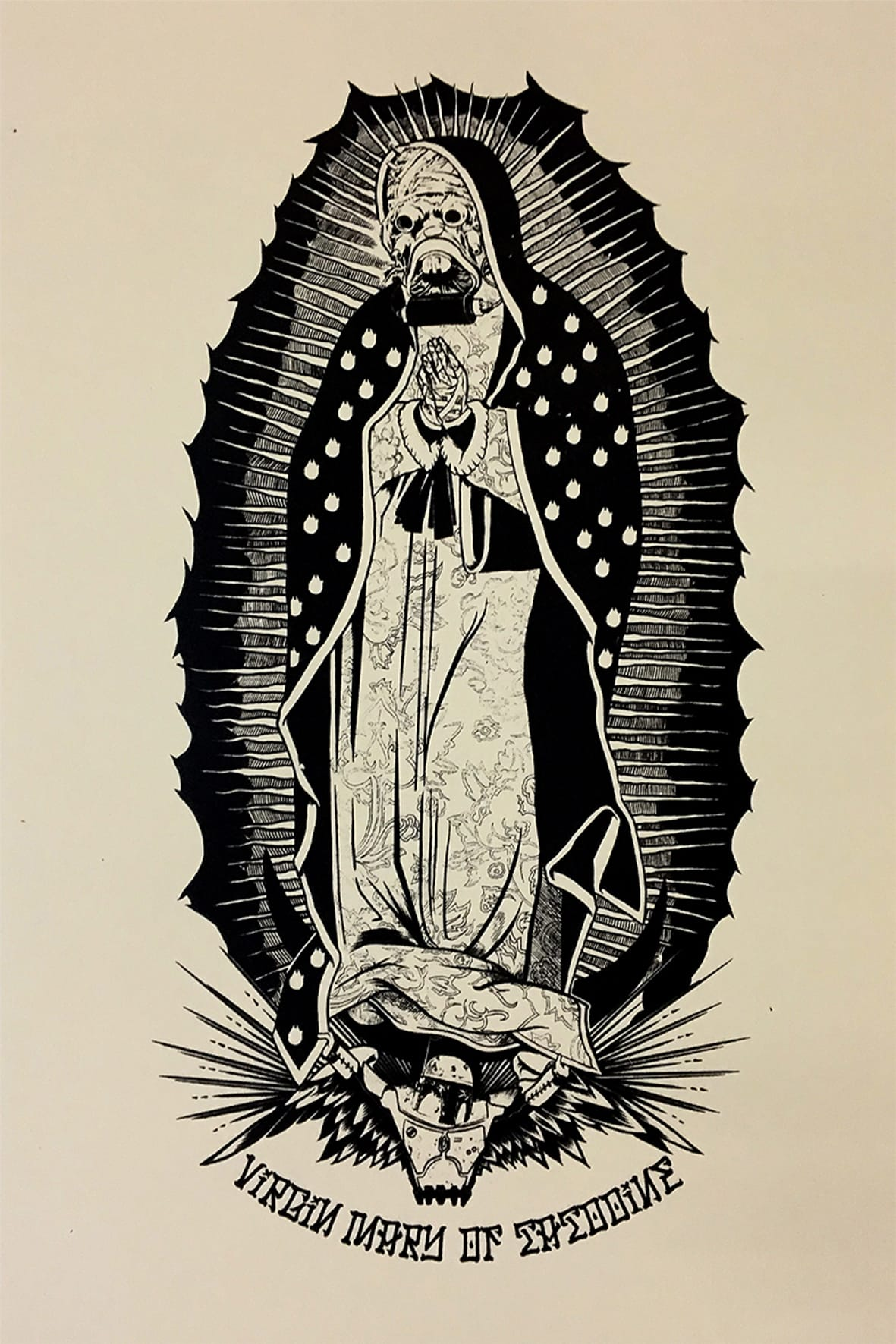 Virgin Mary of Tatooine - Artprint