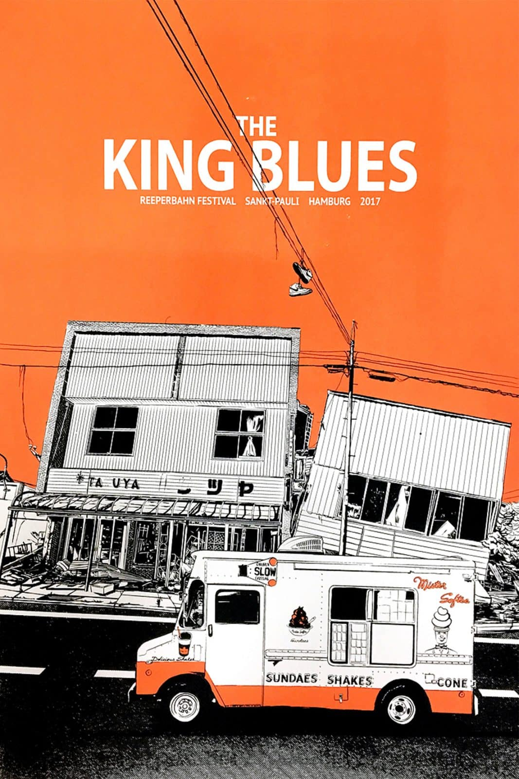 King Blues - Gigposter