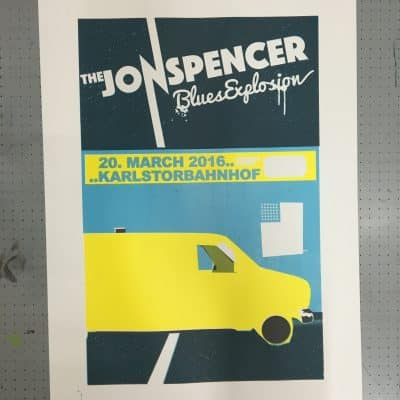 The Jon Spencer Blues Explosion - Karlstorbahnhof Heidelberg