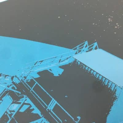 Gigposter Steaming Satellites