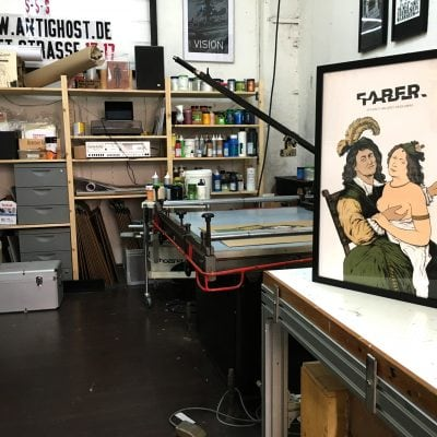 Faber –Gigposter