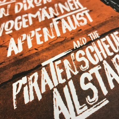 Gigposter Piratenscheuer 2018 (SOLD OUT)