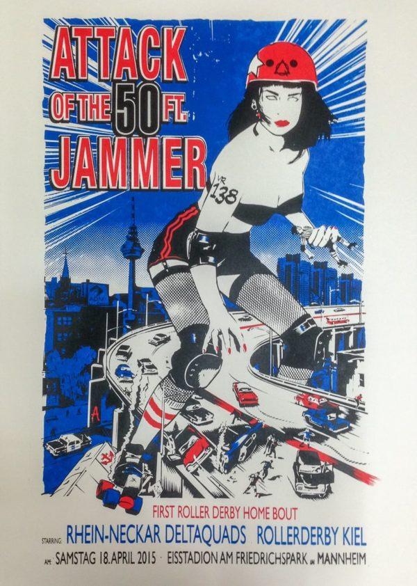 Rollerderby - 50 Foot Jammer