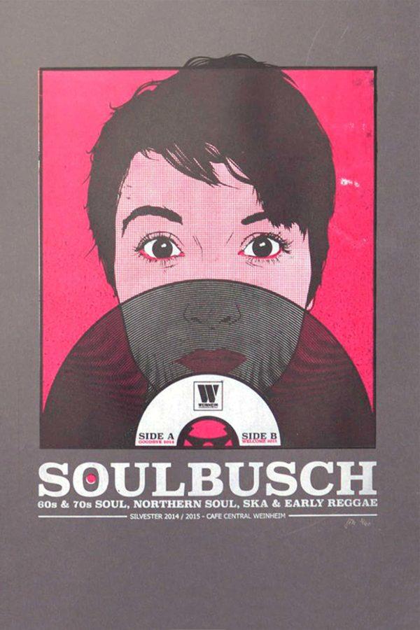 Soulbusch - Weinheim - Gigposter