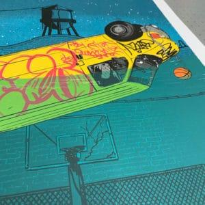 Slam Dunk Artprint - Details