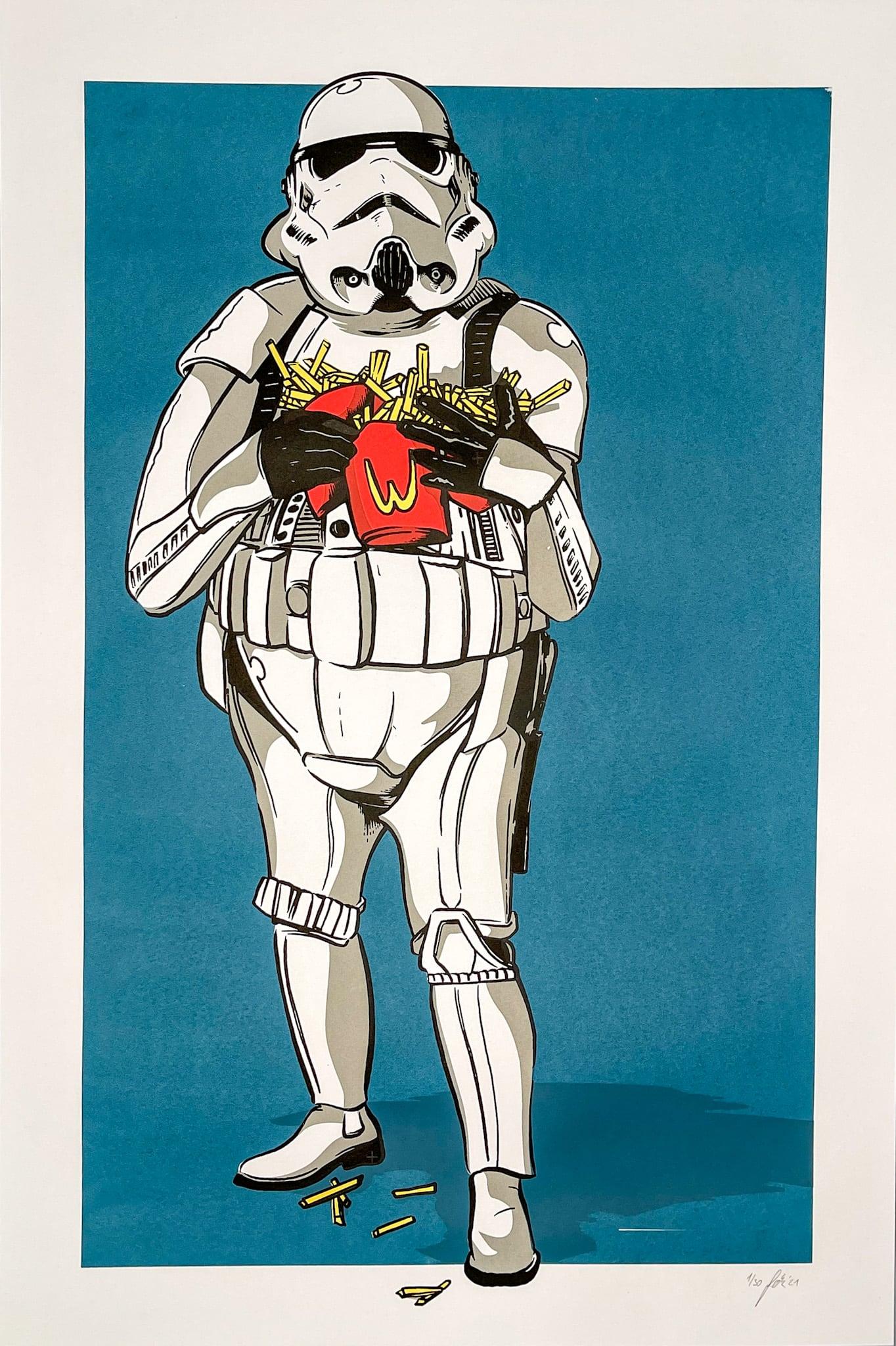 Stormtrooper mit Pommes