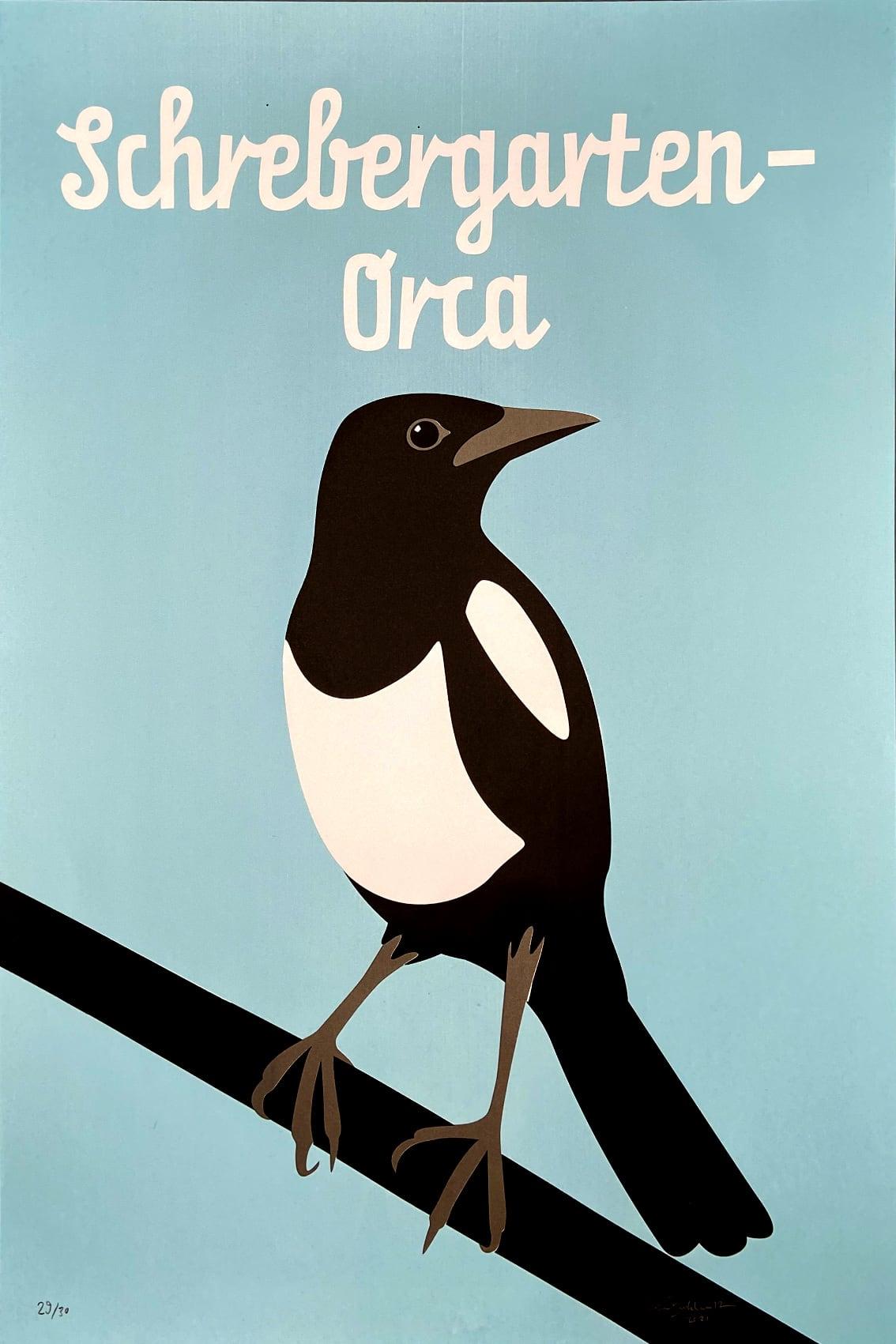 Schrebergarten-Orca